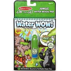 Omalovánky - Kouzlení vodou, Džungle (M&D)