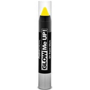 PaintGlow - Tužka na obličej UV NEON, žlutá