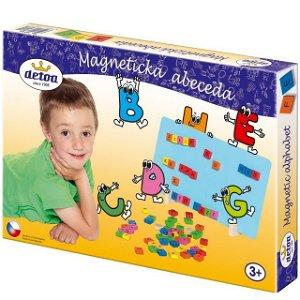 Puzzle magnetické - Abeceda magnetická (Detoa)