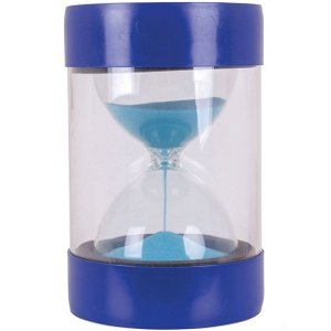 Přesýpací hodiny - MAXI 5 minut modré (Bigjigs)