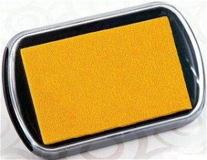 Razítkovací polštářek - Velký, barva žlutá