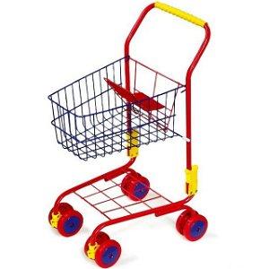 Prodejna - Nákupní vozík, Červený (Legler)