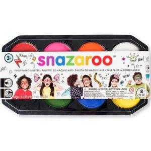 Snazaroo - Sada 8 barev na obličej, 8x18ml (400 obličejů)