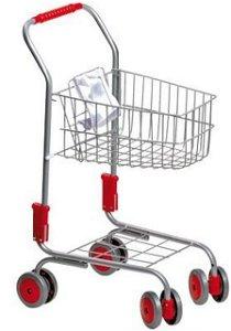 Prodejna - Nákupní vozík, Stříbrný (Legler)