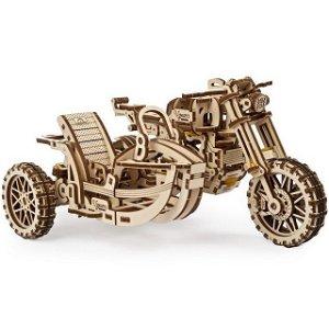 3D mechanický model - Motorka s vozíkem Scrambler UGR-10 (Ugeras)