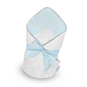 Luxusní zavinovačka s mašlí Belisima Enzo, Modrá