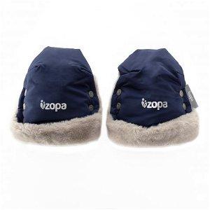 Zimní rukavice Fluffy, Royal Blue