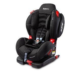 Autosedačka CARETERO Sport TurboFix black 2016, Černá