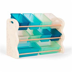 Organizér na hračky s ukládacími boxy