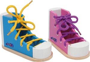 Small foot by Legler Small Foot Set hry zavaž si tkaničku Bota 2 ks