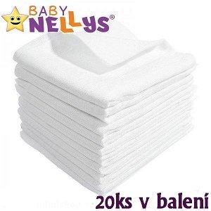 Kvalitní bavlněné pleny Baby Nellys - TETRA LUX 70x80cm, 20ks v bal.