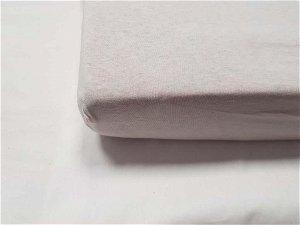 DAUBNER Prostěradlo bavlněné 120x60 cm Light Grey
