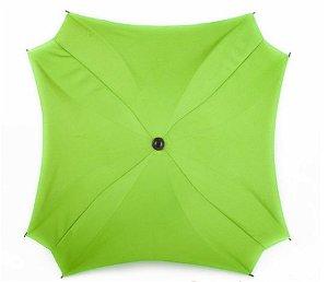 Slunečník na kočárek Baby Joy, čtvercový zelená