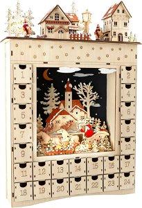 Small foot by Legler Small Foot Dřevěný adventní kalendář zimní sen