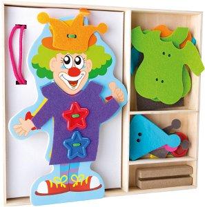 Small foot by Legler Small Foot Oblékání klauna