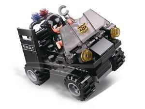 Sluban Policie 4into1 M38-B0638C SWAT Čtyřkolka