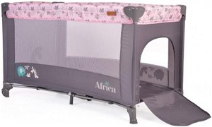 Moni Cangaroo Dětská ohrádka Africa - růžová