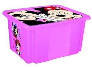 Keeeper Box na hračky Minnie Mouse 24 l - růžový