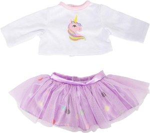 Small foot by Legler Small Foot Oblečení košile a sukně s koníčkem