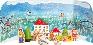 Small foot by Legler Small Foot Adventní kalendář zimní les