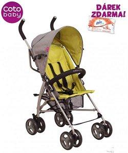 Golfový kočárek Rhythm Coto Baby 2020 zelená/šedá