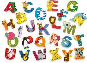 Small foot by Legler Dřevěná abecedy 1ks - písmenko K