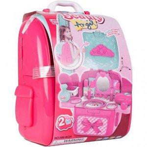 Tulimi Dětská toaletní sada v baťůžku Beauty Angel - růžový
