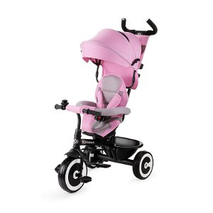 Tříkolka Kinderkraft Aston Pink, růžová
