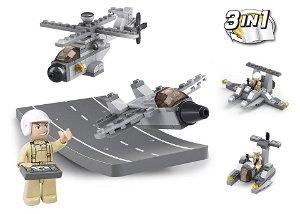 Sluban Army 9into1 M38-B0537H Army drony 3v1