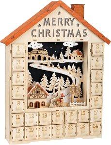 Small foot by Legler Small Foot Adventní kalendář veselé Vánoce