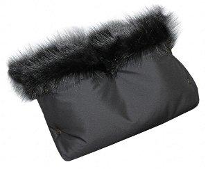 Rukávník Emitex LUXURY softshell na kočárek, černý