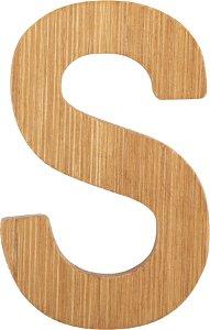 Small foot by Legler Small Foot Bambusové písmeno S