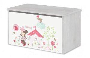 KLUPŚ BabyBoo Box na hračky, truhla Disney - Minnie, D19