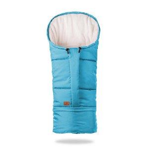 HappyBee zimní fusak  Mumi 3v1 fleece modrá