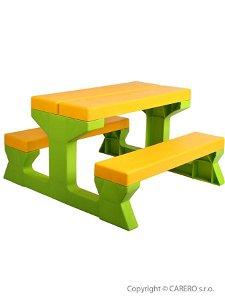 STAR PLUS Dětský zahradní nábytek - Stůl a lavičky