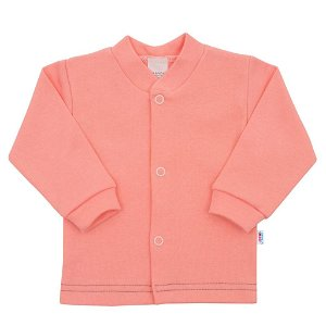 Kojenecký kabátek New Baby Mouse lososový Růžová 80 (9-12m)