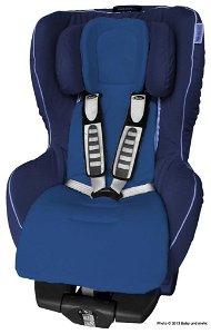 Univerzální vložka ByBoom Comfort do kočárku a autosedačky - Tmavě modrá