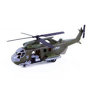 Rappa Vojenská helikoptéra se zvukem a světlem 42 cm