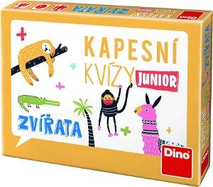 Dino KAPESNÍ KVÍZY JUNIOR - ZVÍŘATA Cestovní hra