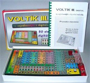 Svoboda elektronická stavebnice Voltík III.