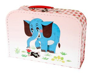Kazeto kufr Krtek a slon, střední