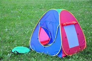Teddies Stan 95x95x90cm samorozkládací  polyester/kov