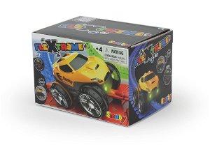 Smoby FleXtreme žluté závodní auto
