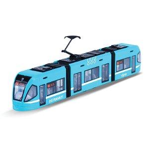 Rappa Moderní tramvaj DPO Ostrava modrá 47 cm