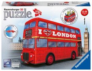 Ravensburger Londýnský autobus 216 dílků 3D puzzle