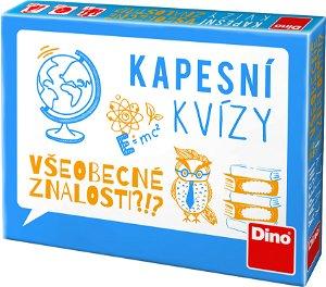Dino KAPESNÍ KVÍZY - VŠEOBECNÉ ZNALOSTI Cestovní hra