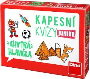 Dino KAPESNÍ KVÍZY JUNIOR - CHYTRÁ HLAVIČKA Cestovní hra