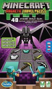 Ravensburger ThinkFun Minecraft Magnetická cestovní hra