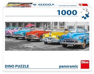 Dino SRAZ BOURÁKŮ 1000 panoramic Puzzle