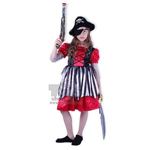 dětské karnevalové kostýmy - pirátka vel. S